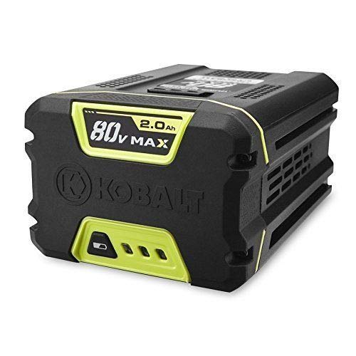 Kobalt lawn mower 80V Li-Lon battery -  KRC 30-06