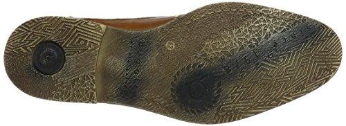 Bugatti Herren 312299013500 Derbys Braun (Cognac 6300)