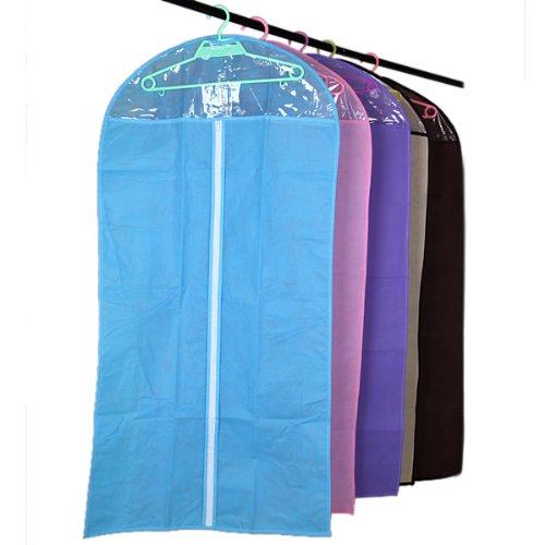 Clothes Suit Cover Zipper Bags Dustproof Storage Protector,