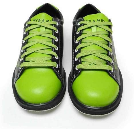 Pyramid Mens Skull Green//Black Bowling Shoes