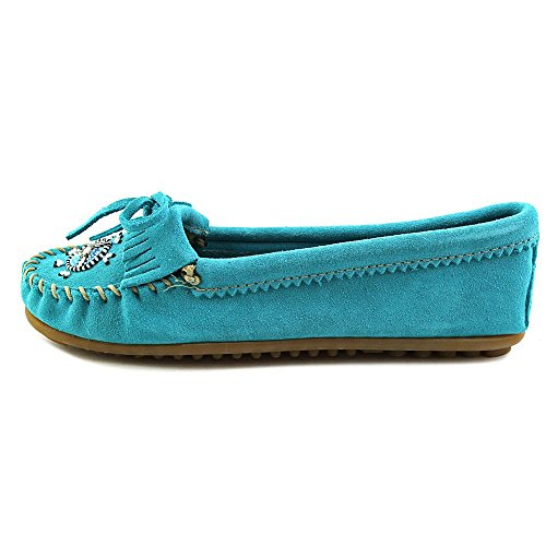 Suede We 403j Me Women's Moccasins To Turquoise Minnetonka 1xq0Fzt