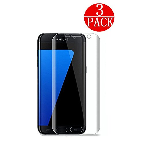 [3-Pack] Samsung Galaxy S7 Screen Protector, FURgenie [No Bubble][Easy to Install] PET HD Screen Protector Film...