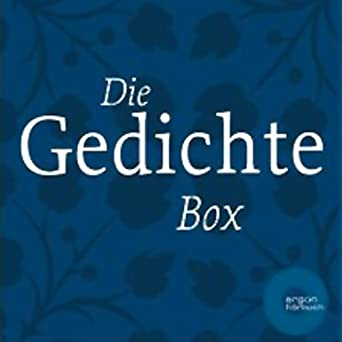 Amazoncom Die Gedichte Box Audible Audio Edition