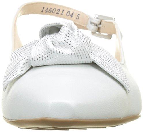 Peter Escarpins Crown Femme 156 Blanc Arriere Bride Samoa weiss Kaiser Latiza rqgxwBHr