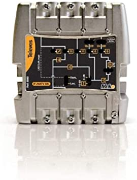 Televes - Amplificador minikom matv 5e/1s easyf: Amazon.es ...
