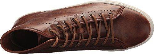 Frye 81511 Mens Brett Perf Logo Alta Sneaker Cognac Lavato Antico Pull Up