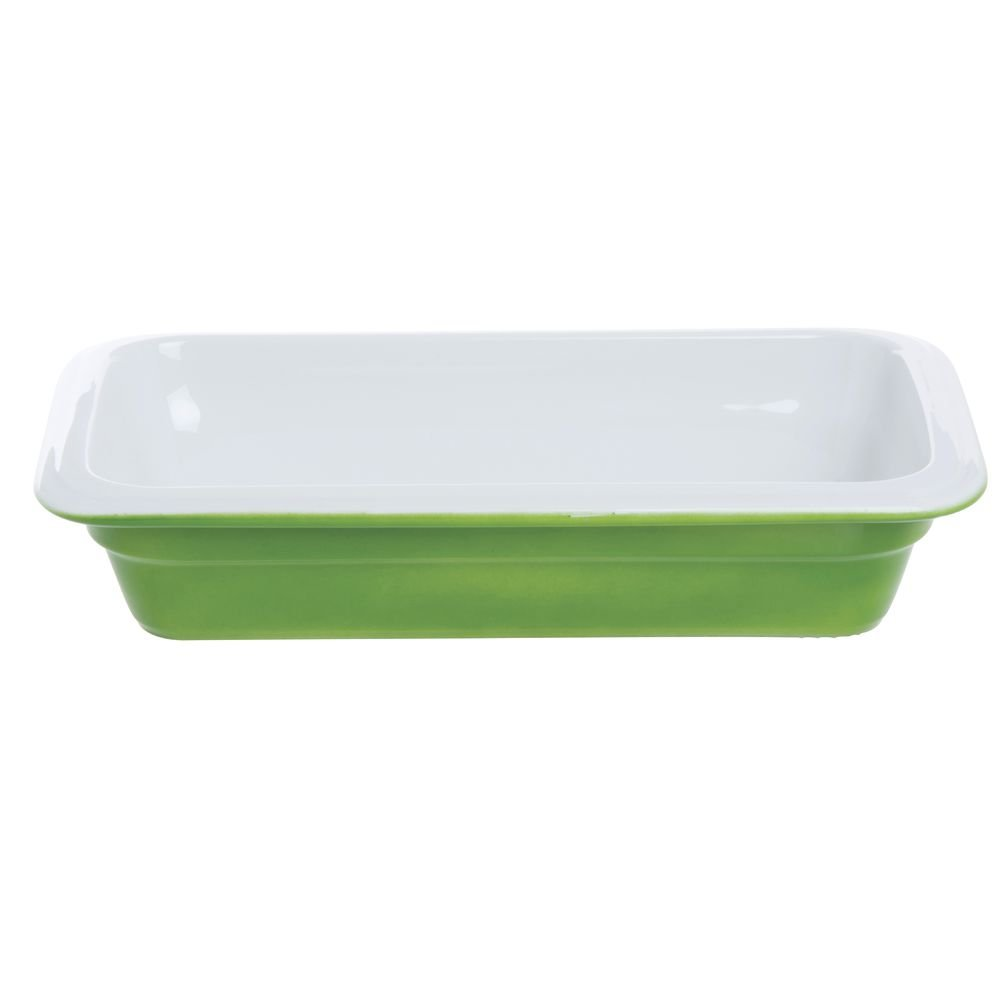 World Cuisine 44347G06 Porcelain Induction Hotel Pan, Small, Green