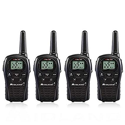 5d9280d2fdd Amazon.com  4-Pack Midland LXT500VP3 Two Way Radio