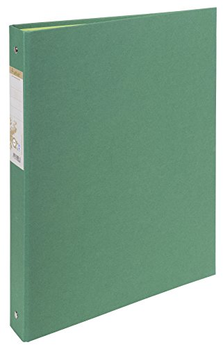 Exacompta Forever Recycled Ring Binder, A4, 2 O-rings, 40mm spine - Dark Green