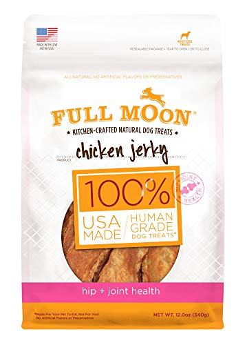 Full Moon All Natural Human Grade Dog Treats For Hip & Joint Health