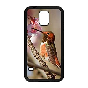 J-LV-F Customized Print Hummingbird Hard Skin Case For Samsung Galaxy S5 I9600