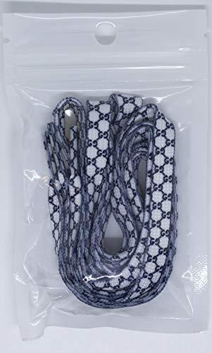 (Custom Designer LacedUp Apparel (White Gucci Plastic Tip) )