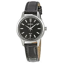 Seiko Three-Hand Leather - Black Women's watch #SUR881