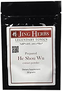 Jing Herbs He Shou Wu Extract Powder 50 Grams