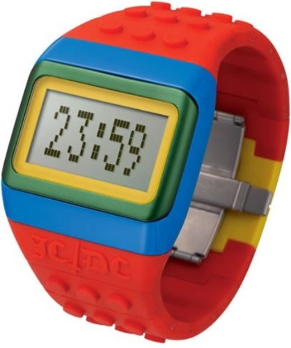 ODM JC01-15 - Reloj Digital de Cuarzo Unisex con Correa de Silicona, Color Rojo: Odm: Amazon.es: Relojes