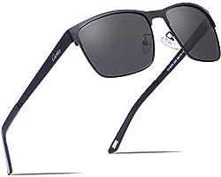 Carfia Unisex Aviator Sonnenbrille Pilotenbrille Polarisiert