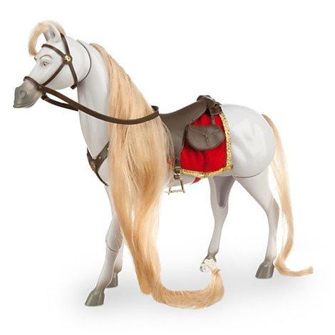 馬のマキシマスのフィギア ラプンツェルのドール着せ替え人形の画像