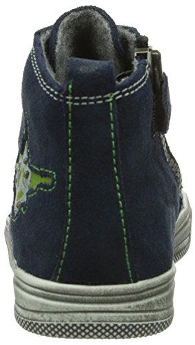 Richter Kinderschuhe Ola - Zapatillas de cuero para niño azul - Blau (atlantic/cactus   7201)