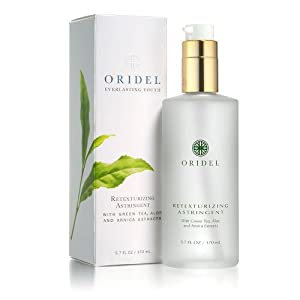 Oridel® Astringent Purifying Lotion with Green Tea & Arnica Extracts, Fragnance Free with All Natural Ingridients