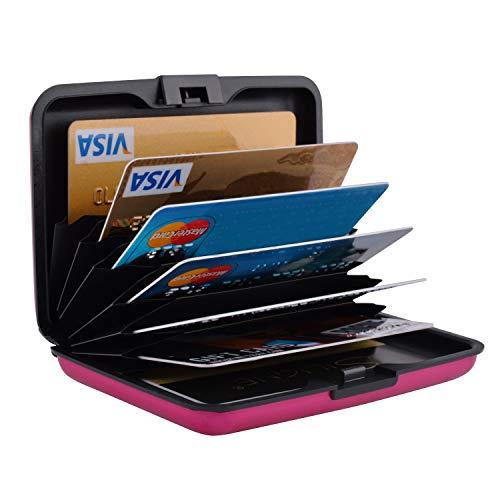 Credit Card Holder Protector Credit Card Wallet Slim RFID Plastic Credit Card Case for Women Men (Credit Security For Case Cards)