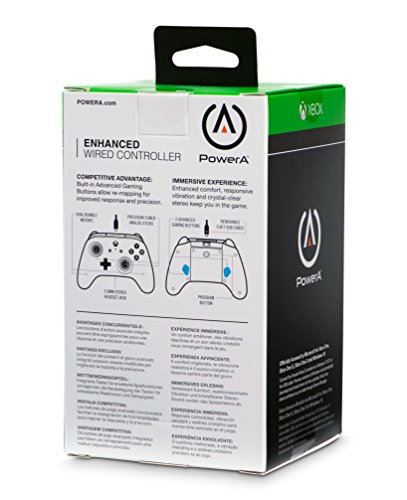 PowerA Enhanced Wired Controller for Xbox One - Green 10