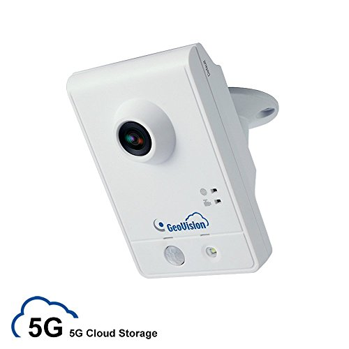 myGVcloud WiFi Wireless HD IP Security Camera with 5GB Life-time Cloud Video Storage and 8GB MicroSD Card (GeoVision GV-HCW120-5G) by myGVcloud