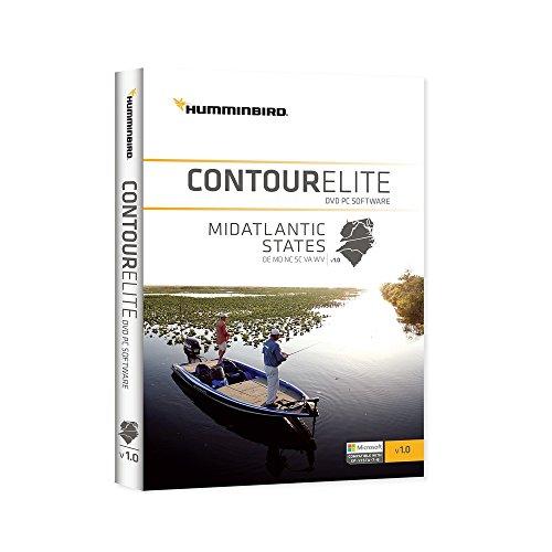 Lakemaster 600044-1 Humminbird Contour Elite, CEMA1 Mid Atlantic States