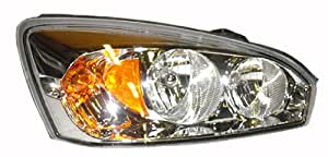 OE Replacement Chevrolet Malibu Passenger Side Headlight Assembly Composite (Partslink Number GM2503235)