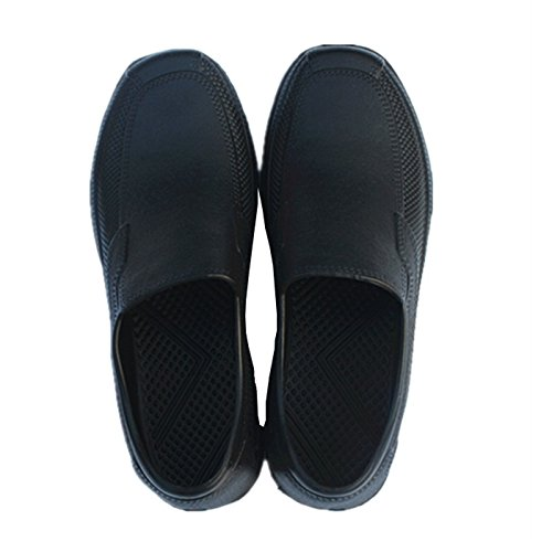 Image of Men Chef Shoes In Kitchen Non-slip Safety Shoes Oil Water Proof For Cook