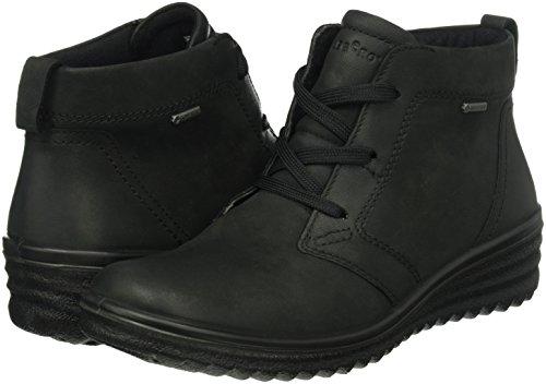 Para De Mujer schwarz 00 Schwarz Negro Derby Zapatos Cordones Legero Roma qEaXAA