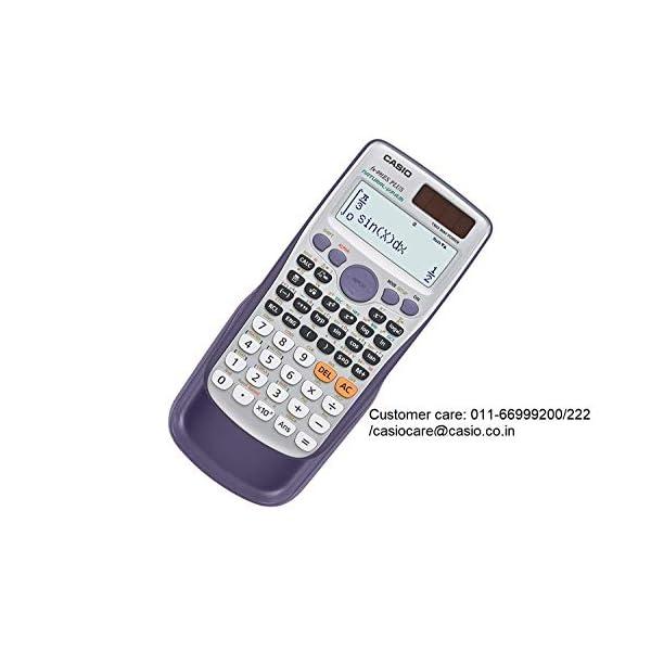 Casio FX-991ES Plus Non-Programmable Scientific Calculator, 417 Functions 4