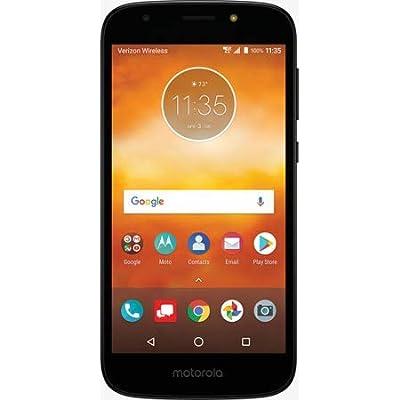 Verizon Prepaid 4G Smartphone - Motorola Moto E5 Go - Black - Carrier Locked to Verizon Prepaid
