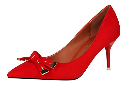tmates-womens-elegant-pointed-toe-bow-buckle-slip-on-suede-stiletto-high-heel-pumps-shoes-55-bmusred