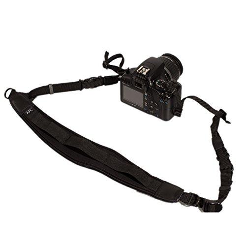 Ares Foto Luxus Kameragurt Tragegurt für alle Kameras mit Gurtösen z.B. Sony Alpha A-Mount α99 Alpha 99 (SLT-A99V) α77 Alpha 77 (ILCA-77M2 Body / Kit) II α65 Alpha 65 (SLT-A65) α58 Alpha 58 (SLT-A58)