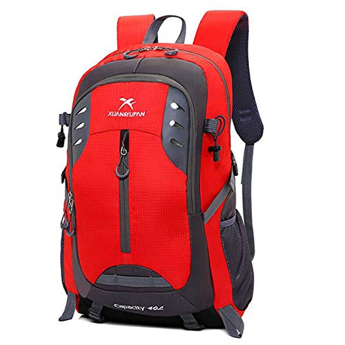17 Inch Laptop Backpack Men and Women Nylon Travel Bag 15-inch Laptop Outdoor Large-Capacity Multi-Function Sports Bag Camping Bag 40l Hiking Backpack