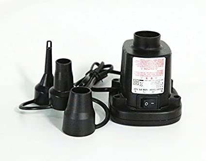 Amazon com: Electric Air Pump Deflate For Toys Air Bed