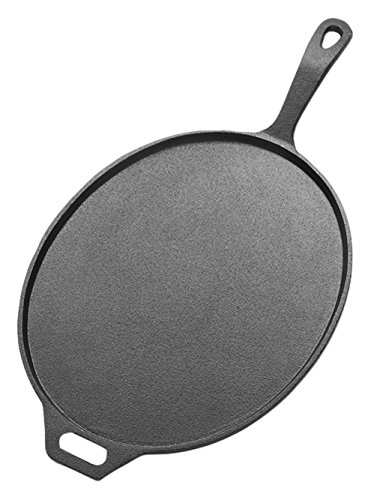 American Metalcraft CILO14 Low-Profile Oval Cast Iron Pans, 14-Inches by American Metalcraft