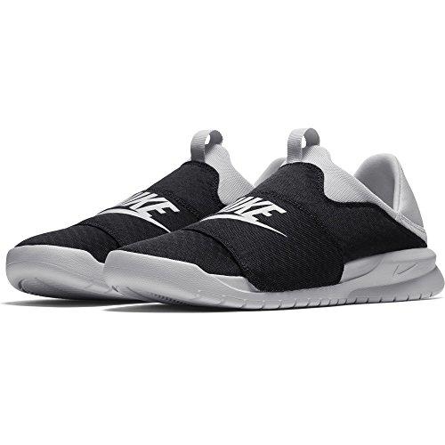 Nike Men's Benassi Slip Shoe, Black/Vast-Grey, 12