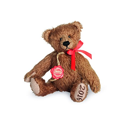 Hermann Teddy Club 2016 Teddy Teddy Teddy braun 13 cm Sammlerteddybär 62290e