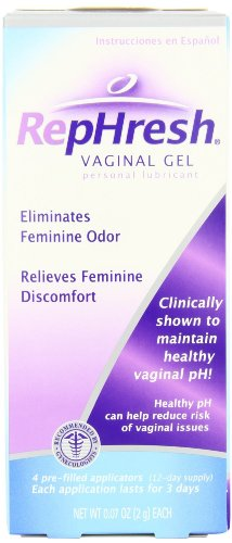 (RepHresh Vaginal Gel,, 0.07 oz-Jumbo Size Pack of 16-(Pre-Filled Applicators))