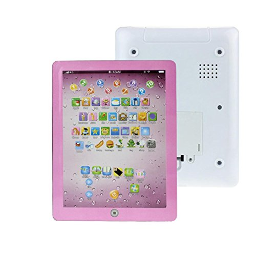 FTXJ Baby Kids Education Toy, Educational Child Touch Type Computer Tablet English Learning Study Machine Toy - Type Touch Learning Computer