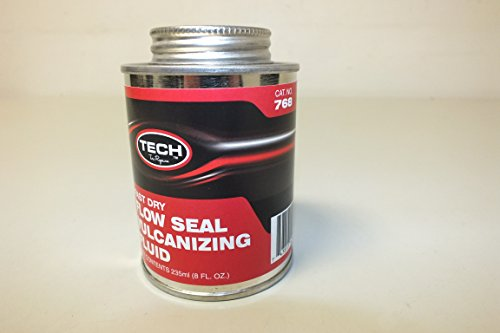 TECH Permacure 8oz Fast Dry Flow Seal Vulcanizing Fluid cat. no. 768