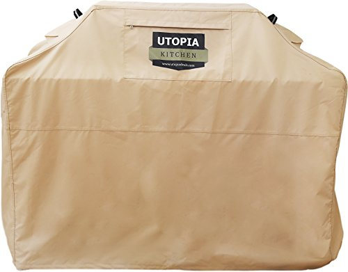 Outdoor BBQ Grill Cover- 64-Inch Wide High Qu...