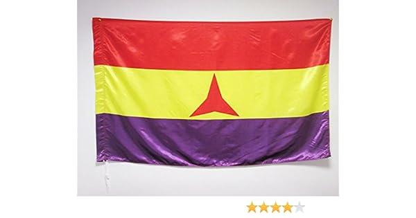 BANDERA ESPAÑA REPUBLICANA BRIGADAS INTERNACIONALES 150x90cm en ...