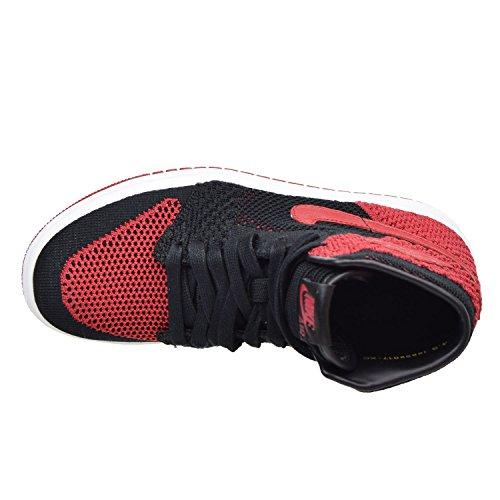 Uomo Flyknit 919702 E Tessuto Air Retro Jordan Gs Nike 1 High Nero Scarpe 001 In Rosso An5pq0xaF