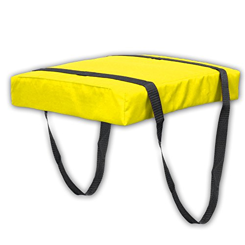 - Bradley Type IV Boat Cushion USCG Approved Throwable Flotation Device - Neon Yellow