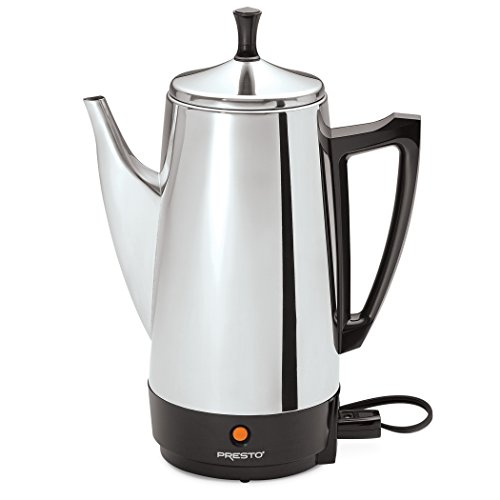 - Presto 02811 12-Cup Stainless Steel Coffee Maker