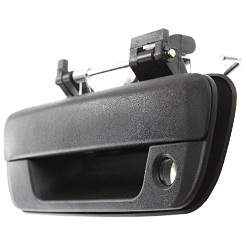 (Diften 170-A0051-X01 - New Tailgate Handle Outer Textured black Chevy i-370 GMC GM1915118 25801998)