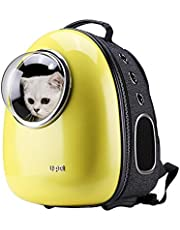 Save big on Upet Bubble Design Cat Dog Puppy Pet Travel Backpack Carrier,Yellow
