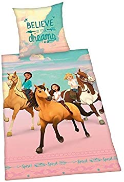 para ZOOM CON LA ratón más de El Cuadro Conducir SIMILAR Artículo vender? mismo vender Detalles ropa cama liso Spirit abigal Lucky PRU montar a caballo Free 135 x 200 Regalo Nuevo WOW -